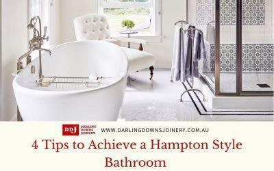 4 Tips to Achieve a Hampton Style Bathroom