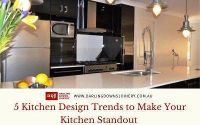 5 Kitchen Design Trends to Make Your Kitchen Standout