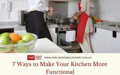 7 Ways to Make Your Kitchen More Functional