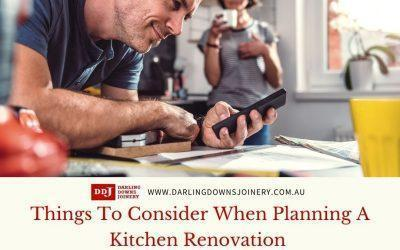 5 Things To Consider When Planning A Kitchen Renovation