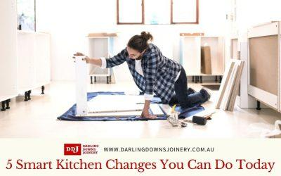 5 Smart Kitchen Changes You Can Do Today